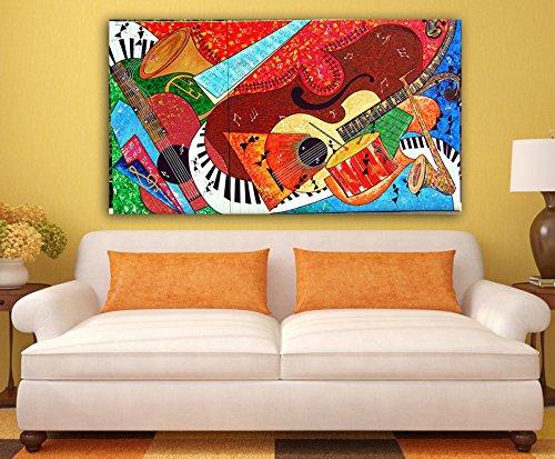 Tamatina Canvas Painting - Warli Art Fusion - Tirbal Art - Modern Art  available at amazon for Rs.298