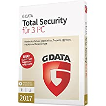 G DATA Total Security 2017 Vollversion - 3 PC / 1 Jahr