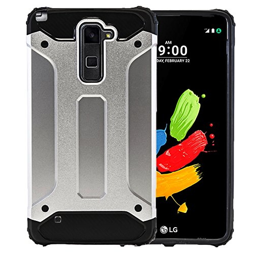 Hard Case für LG Stylus 2 Plus LGK530F | Outdoor 360 Armor Full Cover | Hybrid