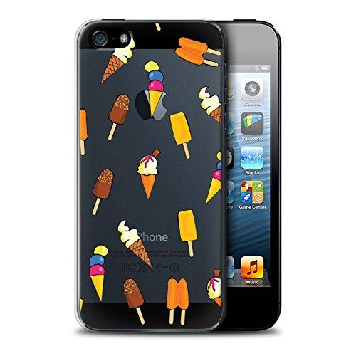 Stuff4 Hülle / Case für Apple iPhone 5/5S / Pizza Muster / Stück Lebensmittel Kollektion Eis