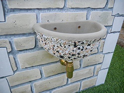 Fontane a muro adige cm40x30x20h fantasia in lavato
