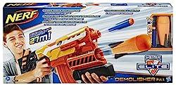 Hasbro Nerf A8494EU4 - N-Strike Elite 2-in-1 Demolisher, Spielzeugblaster
