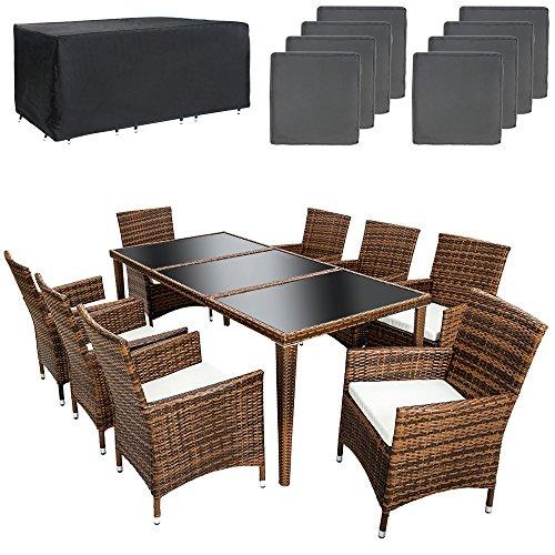 tectake-set-di-mobili-da-giardino-alluminio-rattan-arredamento-esterno-sedie-tavolo-8-1-nero-marrone