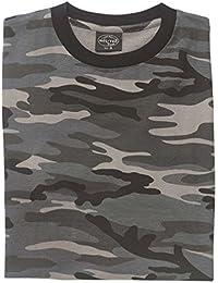 foncé Camouflage militaire T-shirt