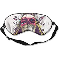 Eye Mask Eyeshade Fashion Skull Painitng Sleep Mask Blindfold Eyepatch Adjustable Head Strap preisvergleich bei billige-tabletten.eu