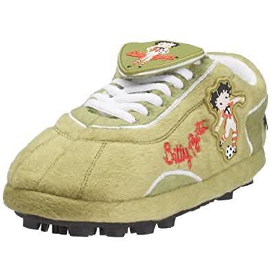 Sloffie Fanschuh Betty Boop soccer, Gr. 39-41, grün (13435)