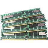 Hypertec 202171-B21-HY Barrette de mémoire DIMM PC1600 équivalent Compaq 2Go