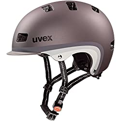Uvex City 5 - Casco unisex, color marrón, talla 55-58