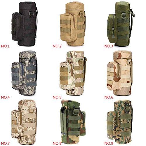 Military Gro?e Wasserflasche Beutel Tasche Halter Molle Reise Wasserkocher Zahnrad Taille Tasche Chromatisches B¨¹ndel