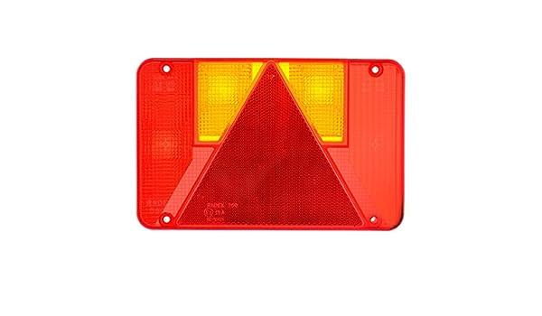 Linse Ersatz Leuchten für Anhänger Radex recht Ifor Williams Indespension TR183