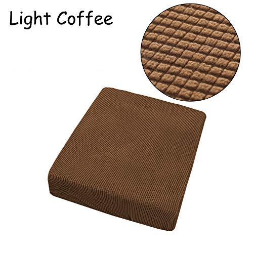 RanDal Stretchy Sofa Seat Kissen Cover Couch Slip Covers Protektor - Leichter Kaffee (Sofa Slip Cover)