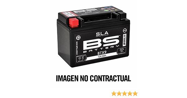 Bs Battery 300841 12n5 5 4a Agm Sla Motorrad Batterie Schwarz Auto