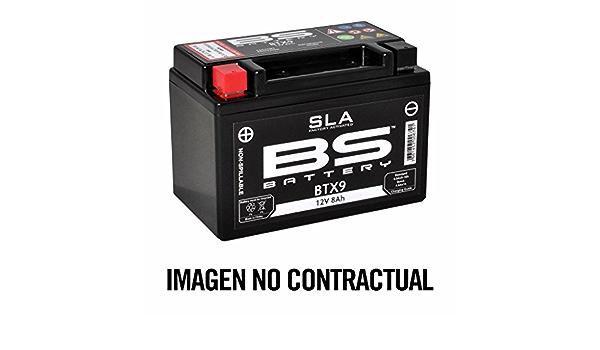 Bs Battery 300673 Btx7l Agm Sla Motorrad Batterie Schwarz Auto