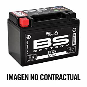 BS battery 300671 bb5l-B AGM SLA Moto Batterie, noir