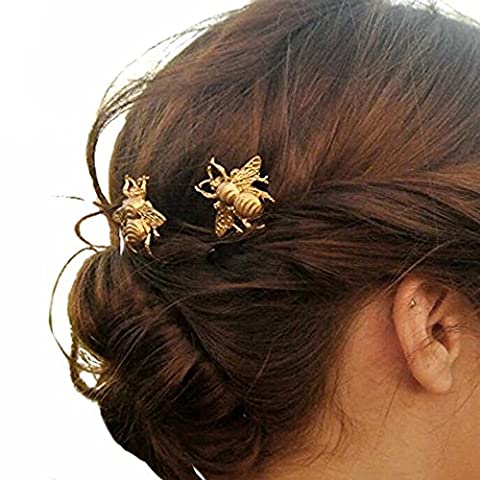 Yean Hair Pins Bridal Hair Accessories with Bees for Women