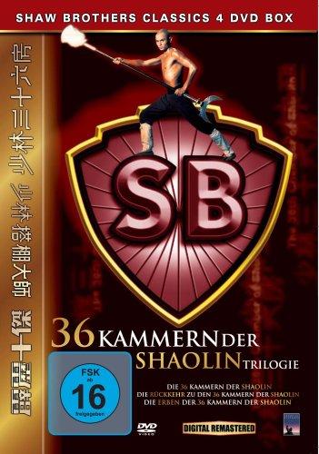 36 Kammern der Shaolin Trilogie [4 DVDs] (Home-vcr)