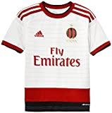 adidas Ac Mil Anthem Maillot Garçon Running White/Victory Red S04/Black FR : 10 ans (Taille Fabricant : 140)