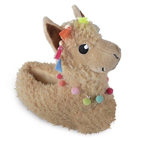 Ladies Womens Girls Unisex Novelty 3D Animal Slippers Sausage Dog Llama Sloth Cat