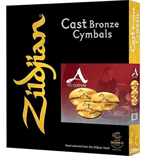 Zildjian A Custom Serie Set 14'-16'-20' + 18' Gratuite