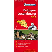 Carte NATIONAL Belgique, Luxembourg 2012