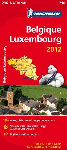 Carte NATIONAL Belgique, Luxembourg 2012