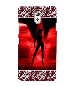 ifasho Designer Phone Back Case Cover Lenovo Vibe P1M :: Vibe P1m ( Beautiful Painting Women Back Pose Look )