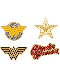Wonder Woman Logos Pin Set multicolour