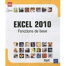 Excel 2010 - Fonctions de base