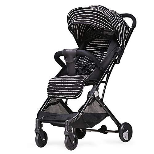 ALIFE Kinderwagen leichte Faltbare Kinderwagen können sitzen liegen Kinder Regenschirm Kinderwagen 0~36 Monate,A