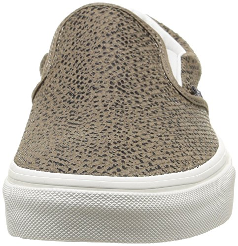 Vans U Classic Slip-On Disney, Sneakers Hautes mixte adulte Multicolore (Cheetah Suede/Black/Tan)