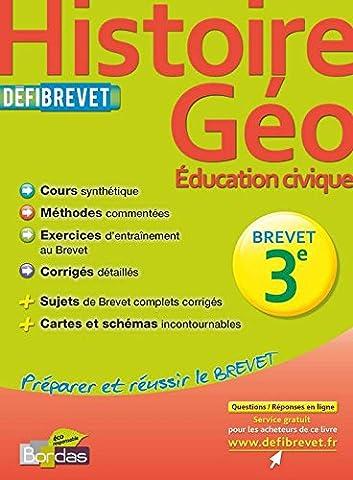 DEFIBREVET HISTOIRE-GEO 3E