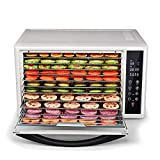 ZYFA Commercial Food Dehydrator- Adjustable Timer and Temperature Control,for Jerky,Fruit,Vegetables&Nuts