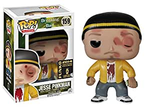 Funko - Figurine Breaking Bad - Jesse Pinkman Bloody SDCC 2014 Pop 10cm - 0849803044602