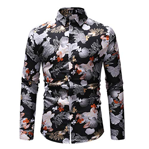 JYJM❤️ Jacke Herren Winter lang Herren Mantel Männer Gedruckt Langhülse, Beefy Muscle Basic Solid Bluse T Shirt Herren warm Wollmantel Kurzmantel Winter Jacke Business\\n Herren Winterjacke Jacke