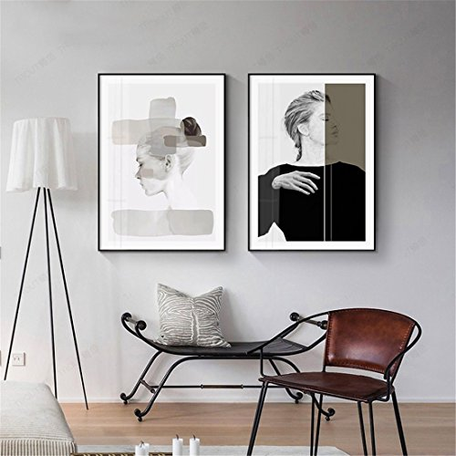 BENJUNAffresco stile nordico dipinti moderni minimalista pittura ...
