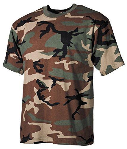 US T-Shirt, halbarm 170 g/m² Woodland