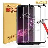 Nasharia [2 Pezzi Galaxy S9 Pellicola Protettiva per Display, durezza 9H, 99% trasparenza Full HD, Anti-Impronte, Alta qualità Vetro temperato, Pellicola Protettiva AntiGraffio per Samsung Galaxy S9