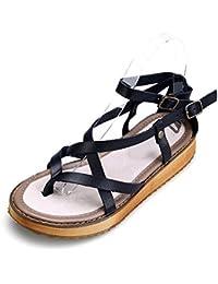 es Zapatos Mujer 45 Dedo De Sandalias Para Amazon 6BvqdCxC
