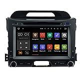 Autosion Android 7.1Cortex A91,6g Auto DVD Player GPS Stereo Head Unit Navi Radio Multimedia Wifi für KIA Sportage R SL 3Generation 201020112012201320142015Stütze Lenkrad Kontrolle