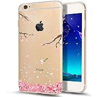 coque iphone 6 silicone rose fleur