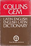 Latin-English, English-Latin Dictionary (Gem Dictionaries) (1979-12-01)