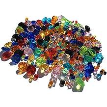 450 unidades mezcla multicolor reluciente Deko diamantes brillantes piedras brillantes acrílico Piedras 11 mm + 5