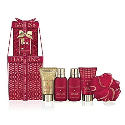 Baylis & Harding Midnight Fig and Pomegranate Mini Stacking Boxes Gift Set