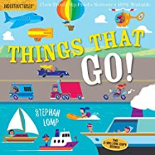 Indestructibles: Things That Go! [Idioma Inglés]