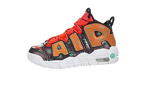 separation shoes 38a1a 45c6e NIKE Air More Uptempo (What The 90s) (Kids): Amazon.co.uk: Shoes & Bags