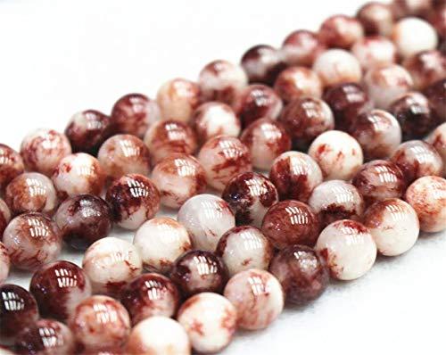 Perles de jade en gros, 6 mm, 8 mm, 10 mm, 12 mm, perles de jade lisses et rondes. 12mm,32pcs