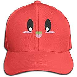 Kawaii Face Smile Cute Smile Baseball Cap Unisex Fishing Caps Peaked Hats Ash