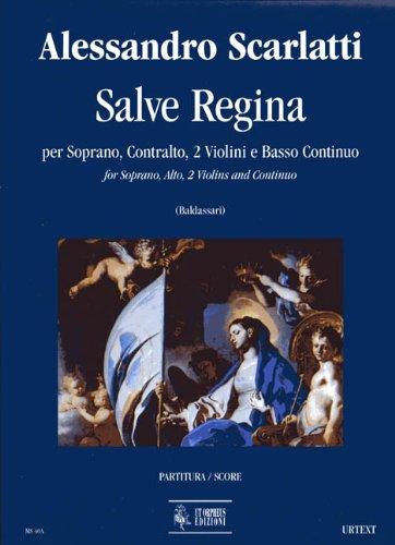 Salve Regina. Gesang, Violine, Basso Continuo