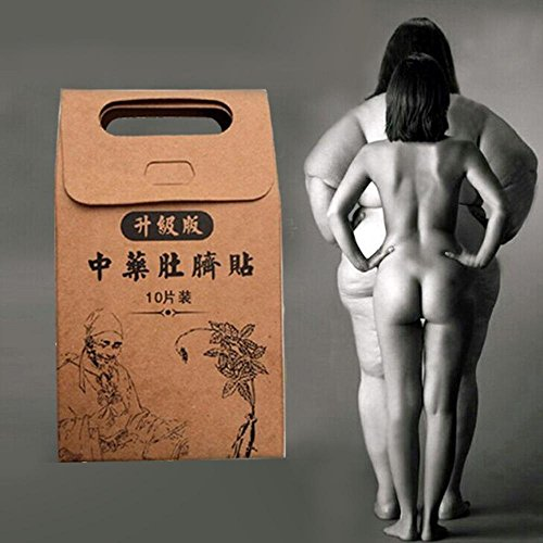 Pawaca Abnehmen Nabel Aufkleber, Traditionelle Chinesische Medizin Nabel Aufkleber Fettverbrennung Aufbügler (Extrahieren Sie Natürlich)