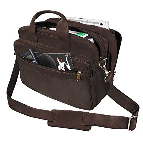 acd28dcc9cf667 STILORD 'Leopold' Grande borsa in pelle da Insegnante Professore ...